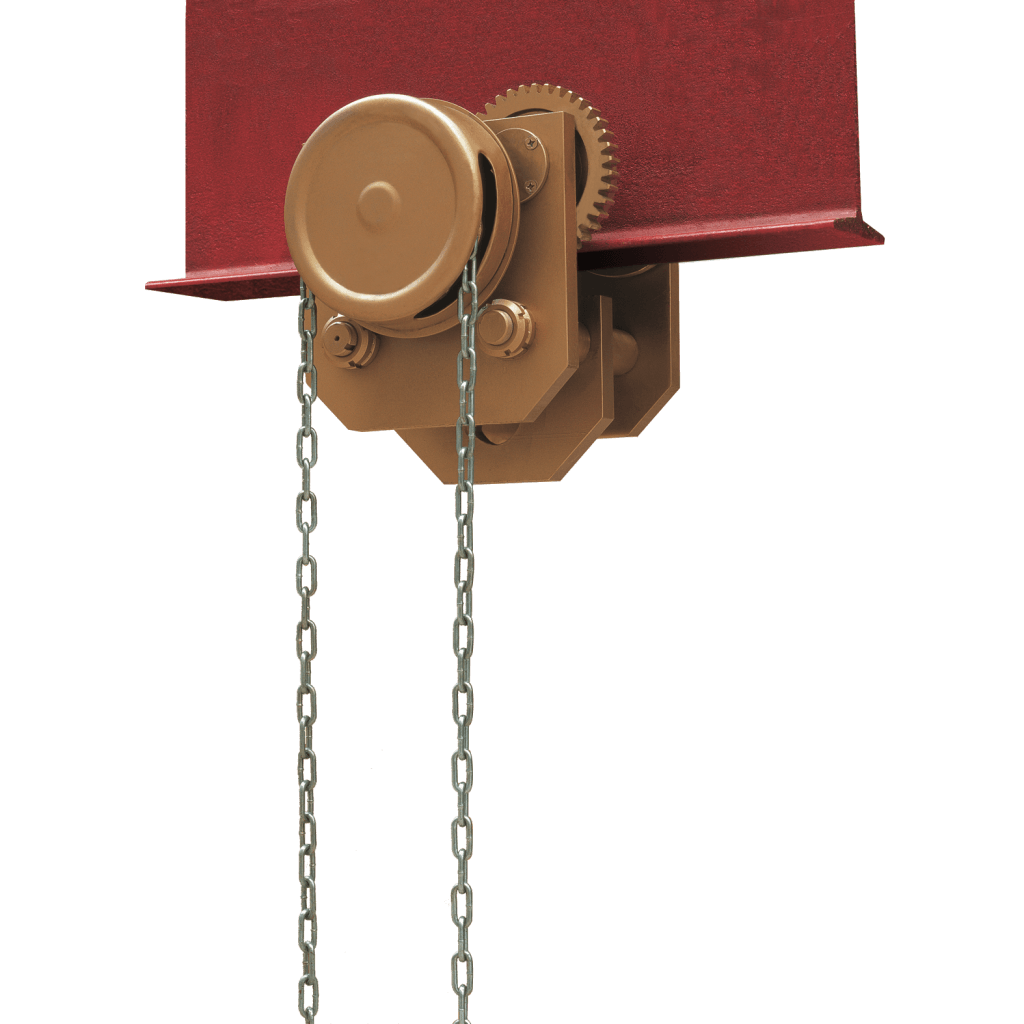 Carltsoe Safety Tools » Trolley For Chain Block / Hoist (One Track)